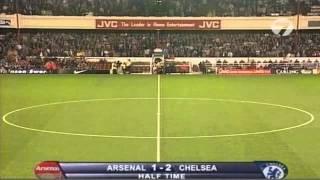 видео: Классика футбола. Арсенал - Челси (04.09.1996)
