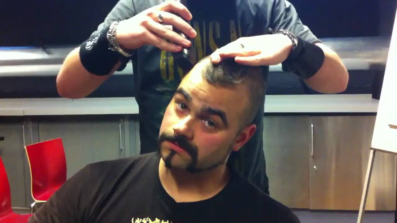 SABATON Finnish Hairstyle OFFICIAL BEHIND THE SCENES