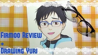 Drawing Yuri from Yuri on Ice + Free glasses!