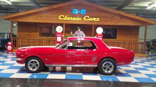 1965 Ford Mustang Coupe (A&E Classic Cars)
