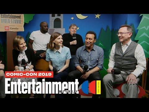 'Evil' Stars Mike Colter, Katja Herbers & Cast Join Us LIVE   SDCC 2019