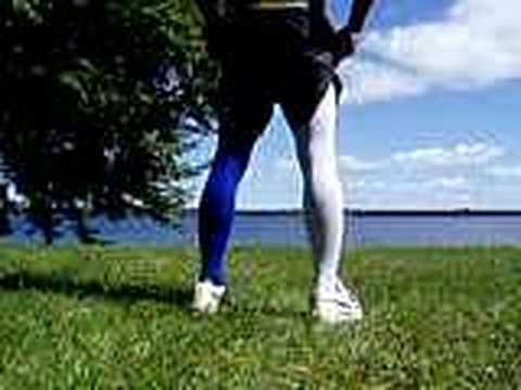 3c955ed0d long soccer socks - YouTube