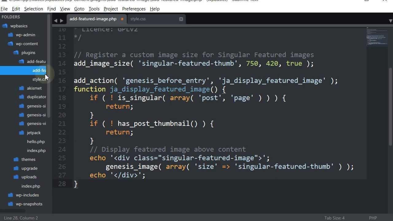 how to create a plugin