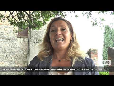 DI GASPERO CANDIDATA PER IL CENTROSINISTRA:«PRIORITA' A QUARTIERI E FAMIGLIE»   04/08/2021