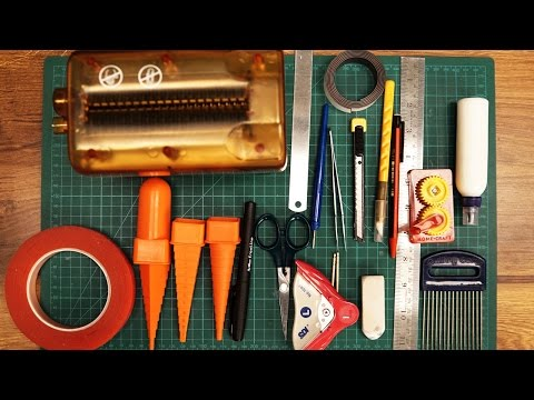 How To Use Basic Quilling Tools & Quilling Tools Demo