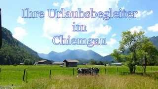 """Ihre Urlaubsbegleiter im Chiemgau - """" Der Wanderführer"""""""