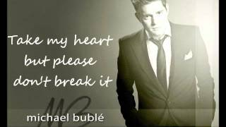 Watch Michael Buble LOVE video