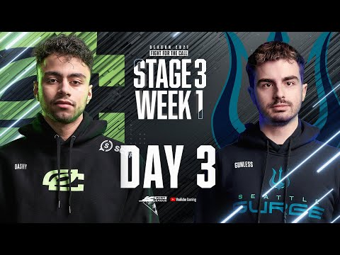 Call Of Duty League 2021 Season | Stage III Week 1 — London Home Series | Day 3