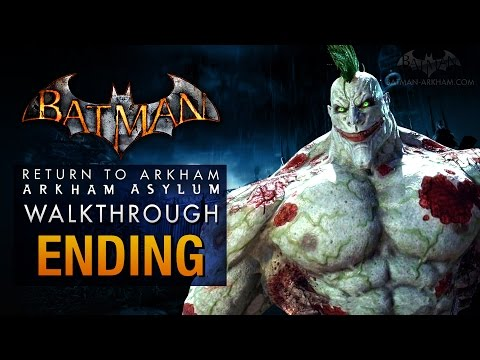 Batman: Return to Arkham Asylum Ending - Jokers Party