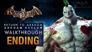Batman: Return to Arkham Asylum Ending - Joker