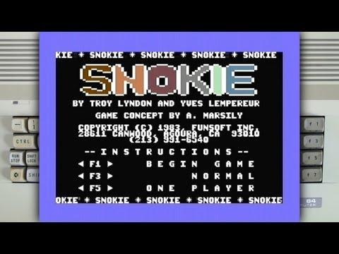 Snokie on the Commodore 64