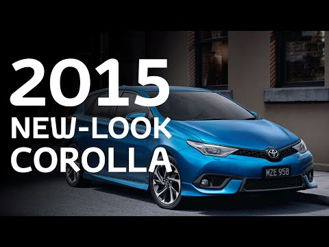 2015 New-Look Corolla Overview - Australia