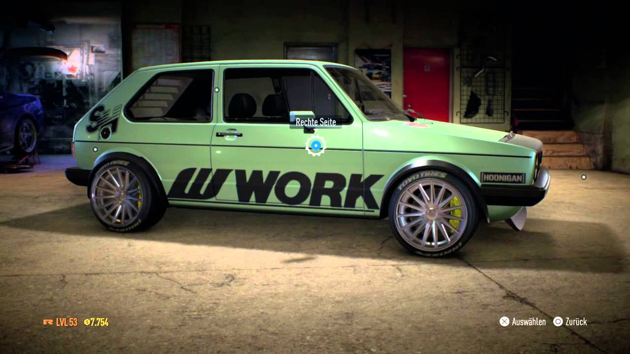 need for speed car tuning part 2 vw golf 1 gti youtube. Black Bedroom Furniture Sets. Home Design Ideas