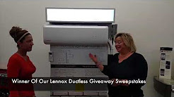 Lennox Ductless Air Conditioning Winner From East Stroudsburg PA