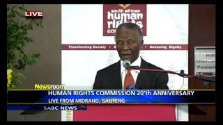 Thabo Mbeki's Keynote Address - SAHRC's 20 Year Anniversary National Conference on Racism