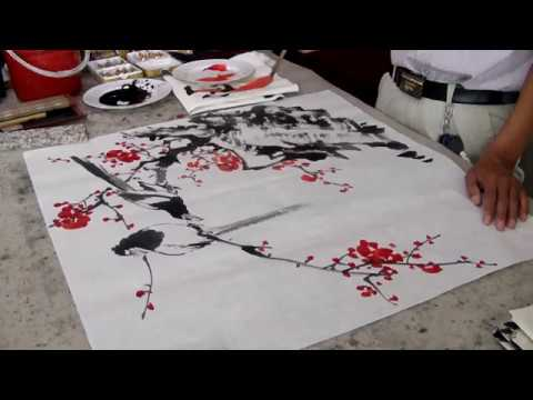 Chinese Art : flowers and birds painting techniques by Gu Chengxi