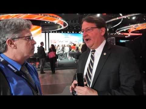 Senator Gary Peters interviewed by Jay Grossman at NAIAS