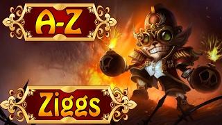 ZIGGS, Der Hexplosions-Experte - Chaotisches A-Z