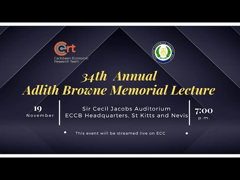 ECCB Connects Season 11 Episode 13 - 34th Adlith Browne Memorial Lecture