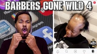BARBERS GONE WILD REACTION 4