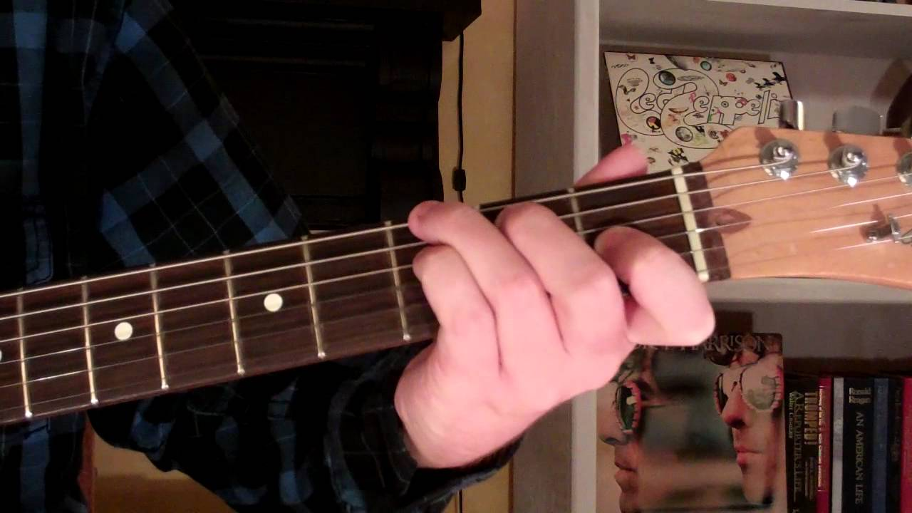 How To Play The G7 9 Chord On Guitar G 7th Minor 9th Youtube