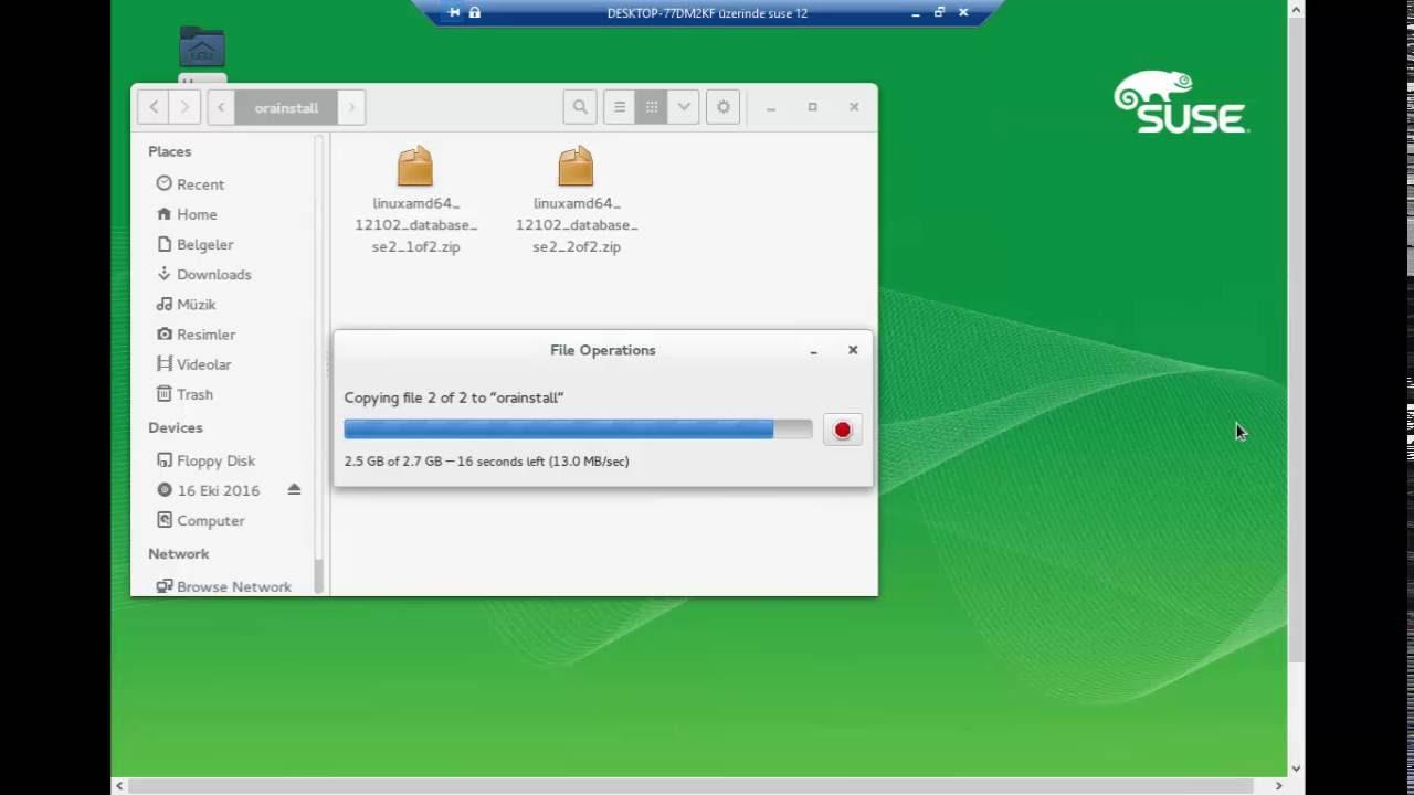 SUSE Linux Enterprise Server 12 & Oracle 12c Patch Kurulumu