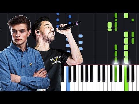 Martin Garrix & Pierce Fulton feat. Mike Shinoda - Waiting For Tomorrow  Piano Tutorial