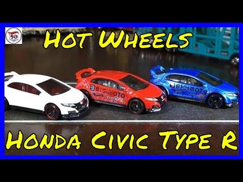 Cracking Open DLM - Hot Wheels Honda Civic Type R