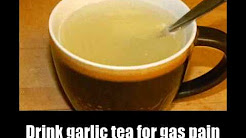 8 Home Remedies For Gas Pain