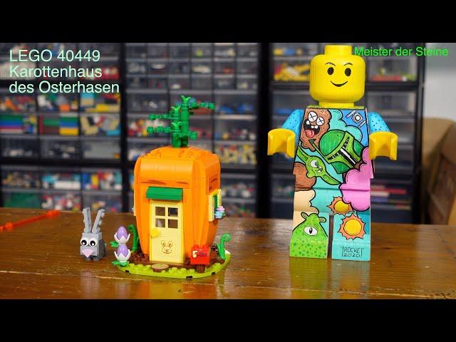 LEGO 40449, Karottenhaus des Osterhasen, Review, Meister der Steine