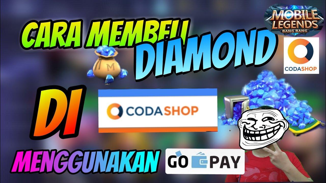 CARA MEMBELI DIAMOND DI CODASHOP PAKAI GO-PAY