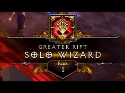 [Diablo 3] S10 Rank 1 Wizard Solo 106
