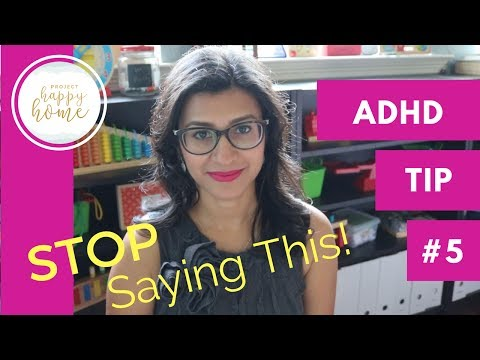 PARENTING ADHD Tip #5: Things NOT to Say to an ADHD Child || Parenting ADHD || Homeschooling ADHD