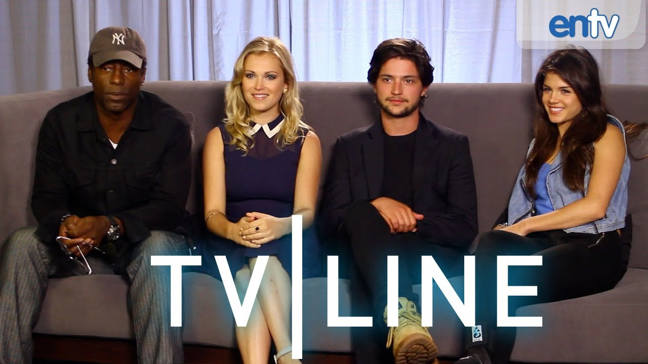 the 100 series preview comic con 2013 tvline youtube. Black Bedroom Furniture Sets. Home Design Ideas