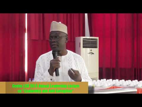Remarks by Prof. Yakubu Mahmood at Centre LSD 2018 Annual Leadership Lecture