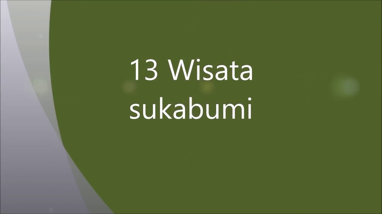 13 Keindahan Wisata Alam Di Sukabumi Explore Sukabumi