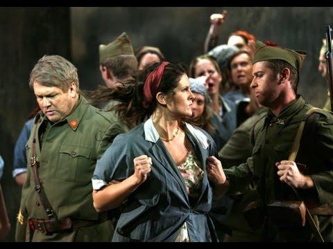 Jeanette Goldstein sings Carmen's arias