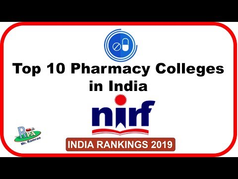 top-10-pharmacy-colleges-in-india:-nirf-2019
