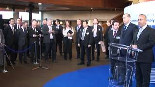 Syriac Universal Alliance special guest Turkish Delegation Council of Europe -- 11-13 April 2011