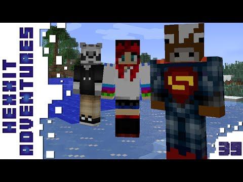 Minecraft - Hexxit - Óriás pók! - 39. rész - w/ Zsömi, Ádám