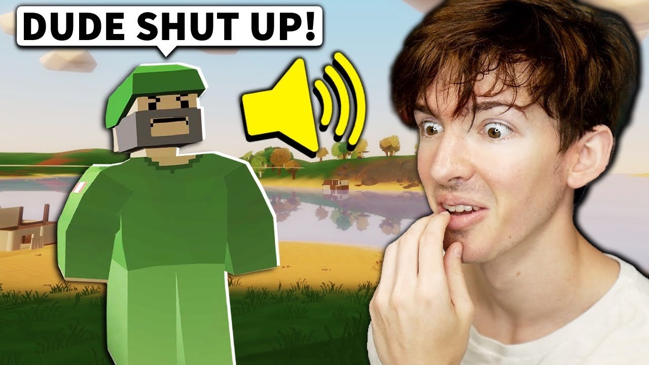 I Made Players Mad Annoying Them With Voice Chat Youtube