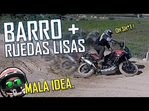 BARRO + RUEDAS LISAS = MALA IDEA