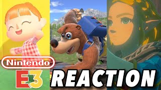 Nintendo E3 2019 Direct REACTION! (Animal Crossing, Breath of the Wild 2, and MORE!)