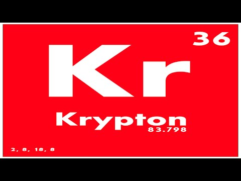 Study Guide 36 Krypton Periodic Table Of Elements Youtube