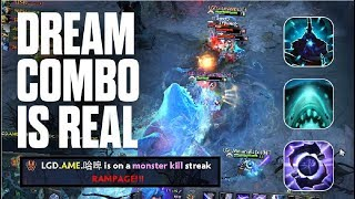 DREAM COMBO IS REAL! - The International 2017 - LGD vs DC | Dota 2