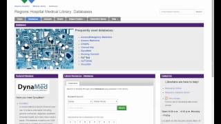 Accessing Full Text Articles on PubMed