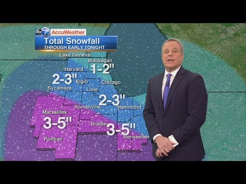 Chicago Weather: 3 Inches Of Snow Friday Will Make For Slippery PM Commute