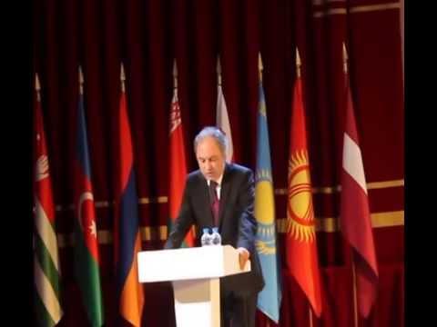 видео: Выступление А.А.Чачии на Международном Форуме Победителей «Великая Победа, добытая единством»