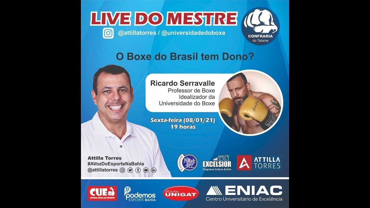 ENTREVISTA: O BOXE DO BRASIL TEM DONO?