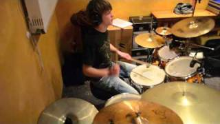 The Simpsons - Panzerballett (Drum Cover by Christian Schichtl)